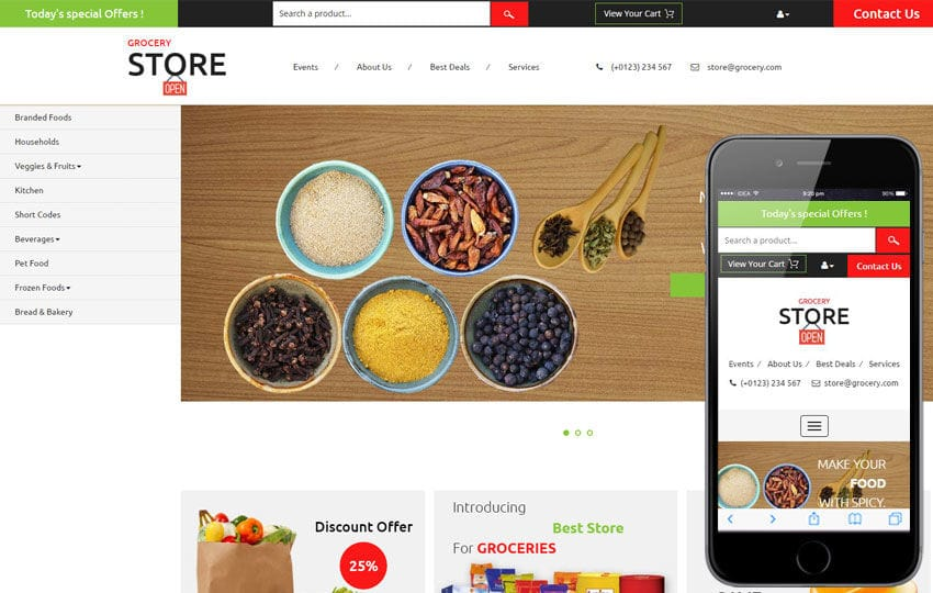 grocery_eCommerce_store